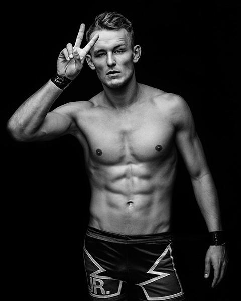 Portrait Wrestler Axel Dieter Jr